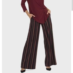 NWT Joseph Ribkoff Wide Leg Striped Pants